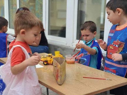"""Група """"Слънчо"""" на Детска градина Монтесори Планета България - гр. Плевен"""